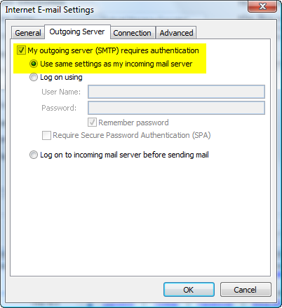 OutlookOutgoingServer